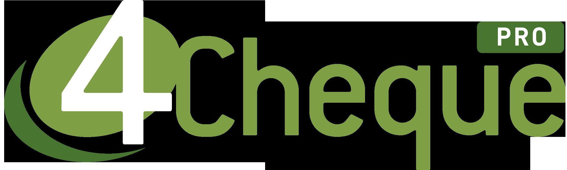 4Cheque PRO logo