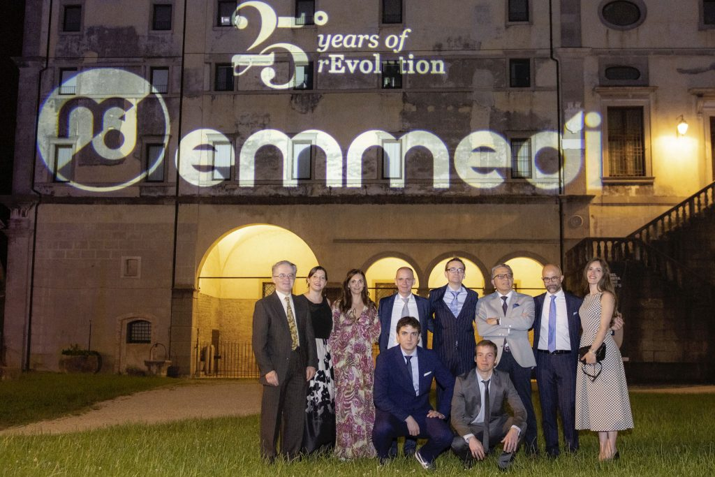 Our team at 25th Emmedi Anniversary