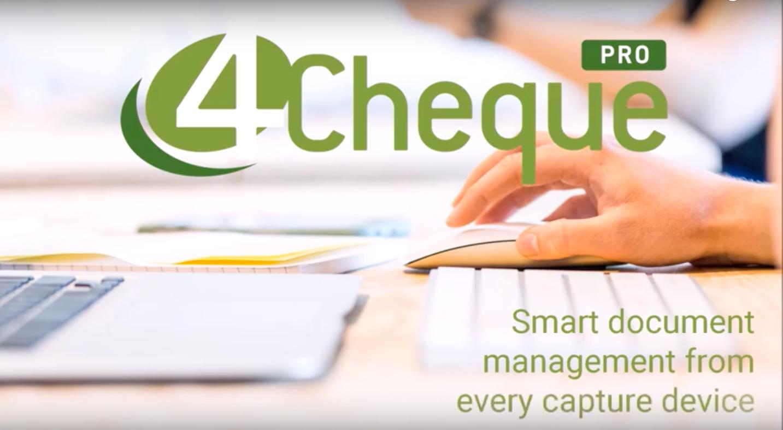 4Cheque PRO video