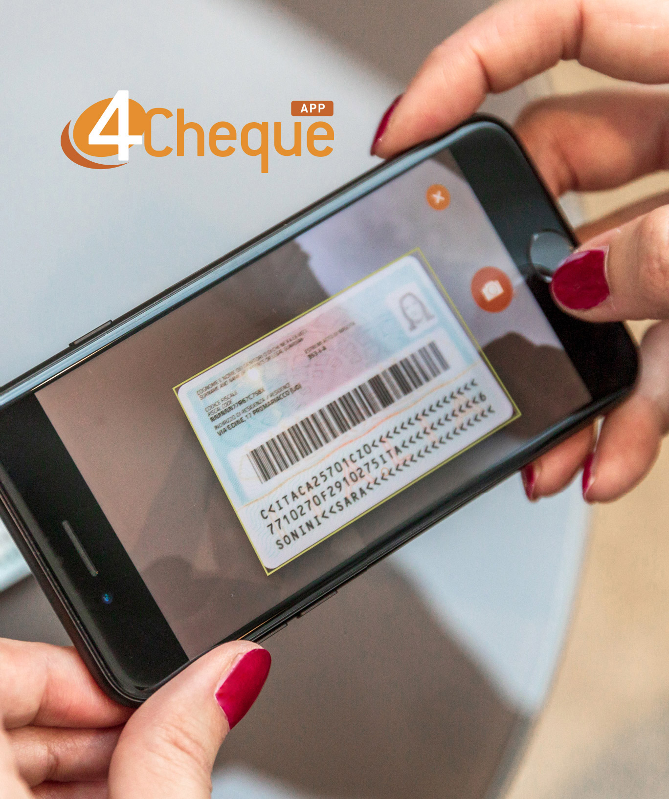 4Cheque APP turns a smartphone into a Check Scanner and much more